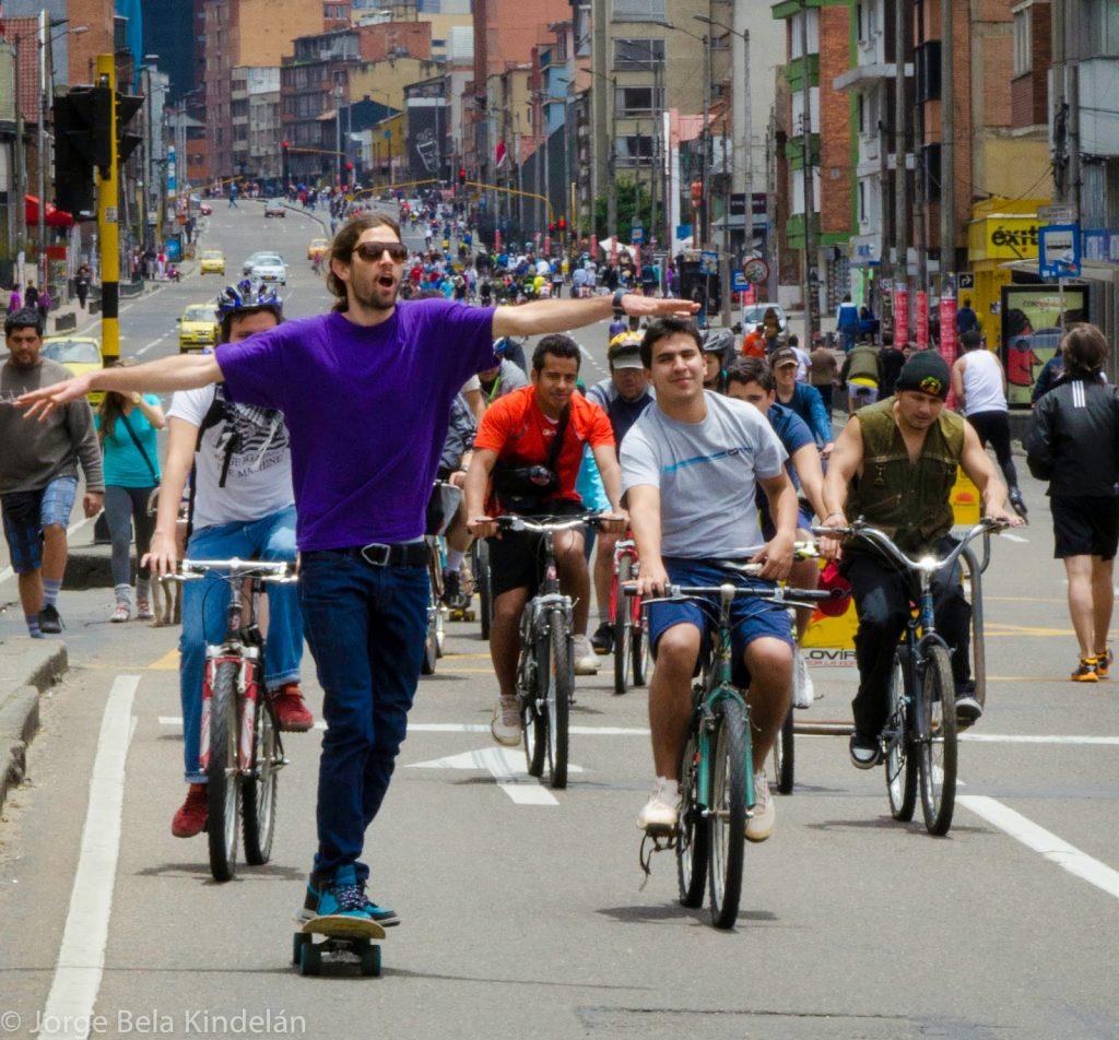 Ciclovia-Bogotà