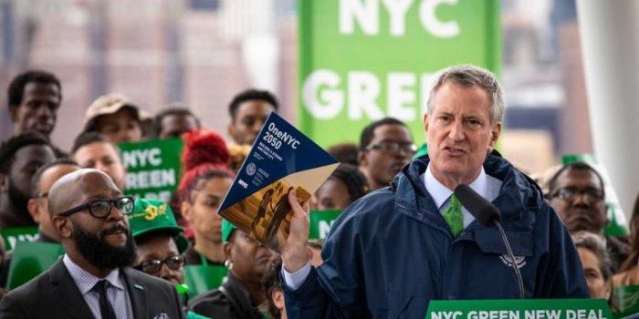 De Blasio Green New Deal